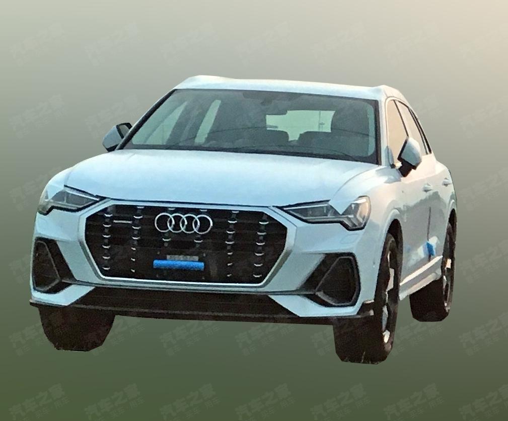 2018 - [Audi] Q3 II - Page 7 2018-Audi-Q3-front-three-quarters-unofficial-image