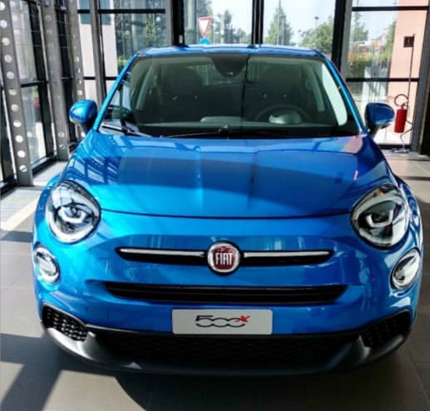 2018 Fiat 500X Urban Look (facelift) front