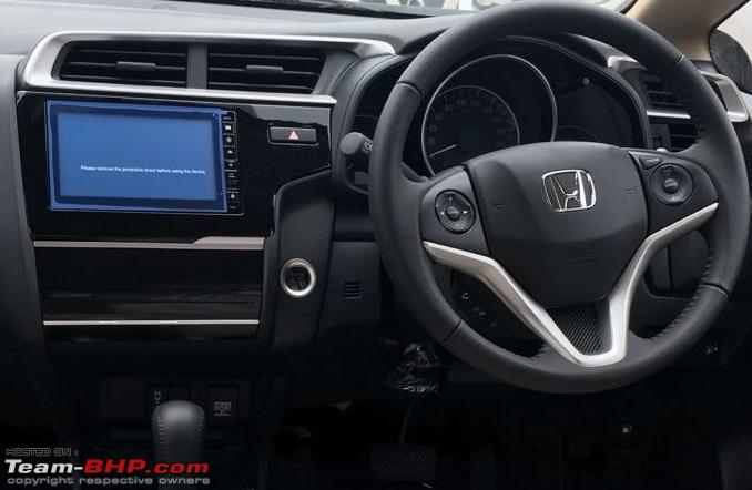 2018 Honda Jazz dashboard driver side unofficial image
