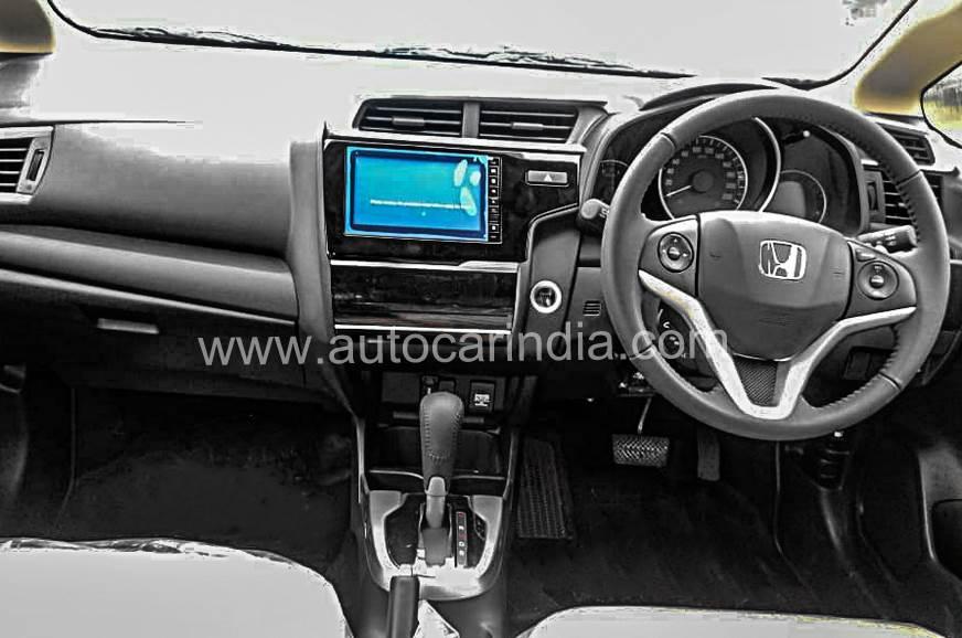 2018 Honda Jazz interior dashboard unofficial image