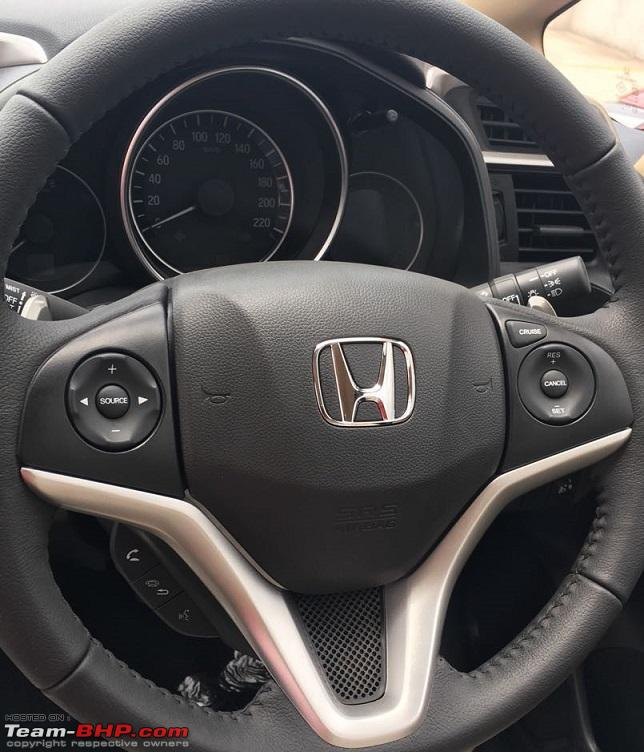 2018 Honda Jazz steering wheel unofficial image