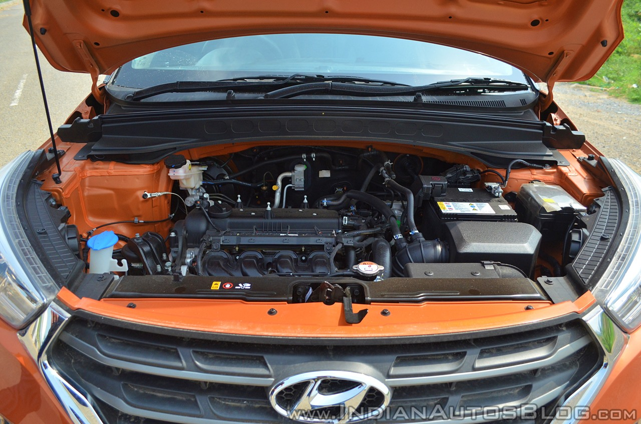 2018 Hyundai Creta facelift review engine