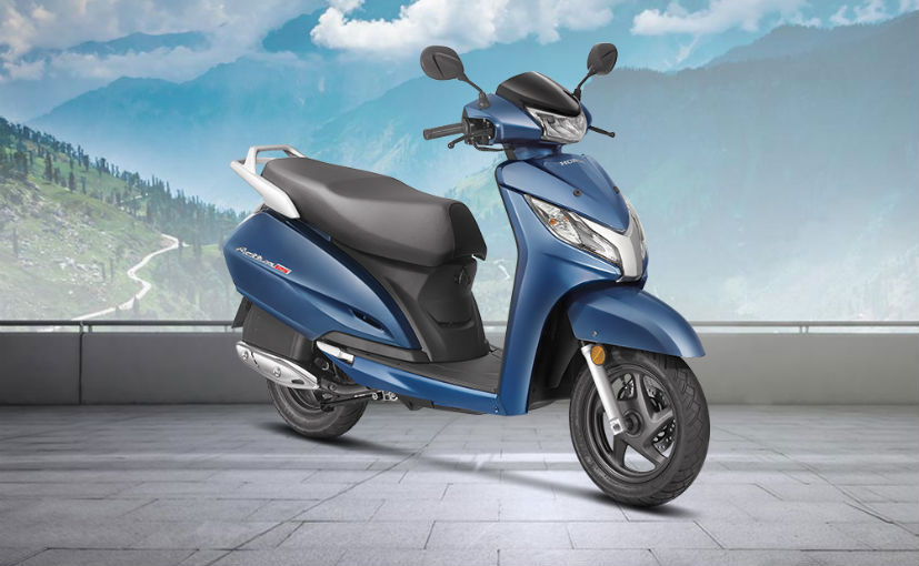 2018 honda activa 125 front right quarter