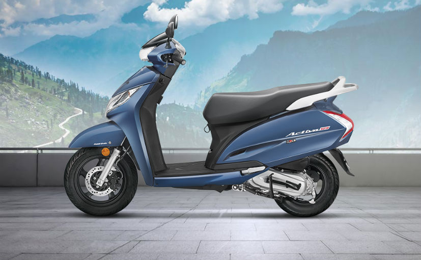 2018 honda activa 125 side profile
