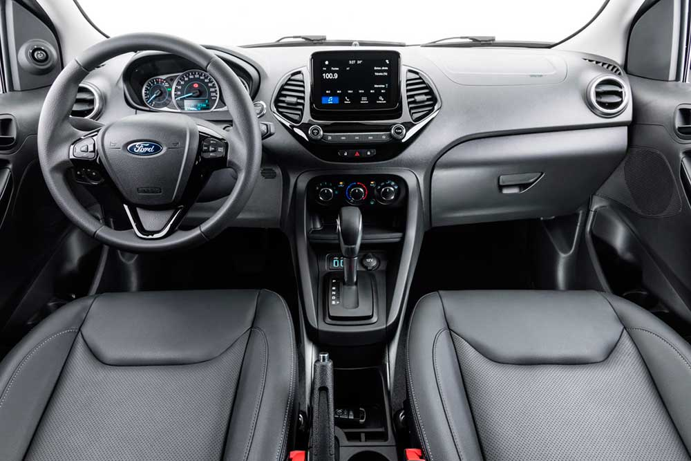 2019 Ford Ka Ford Figo facelift interior
