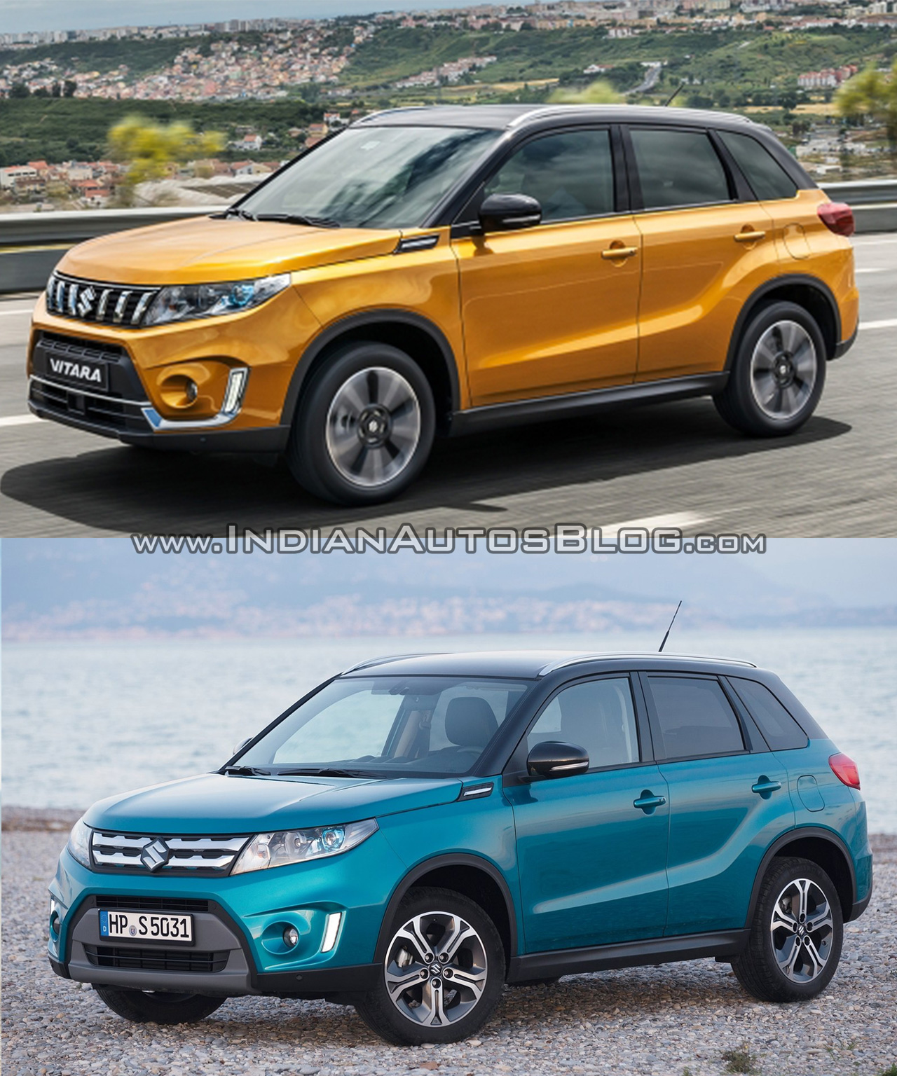 2019 suzuki vitara vs 2015 suzuki vitara old vs new. Black Bedroom Furniture Sets. Home Design Ideas
