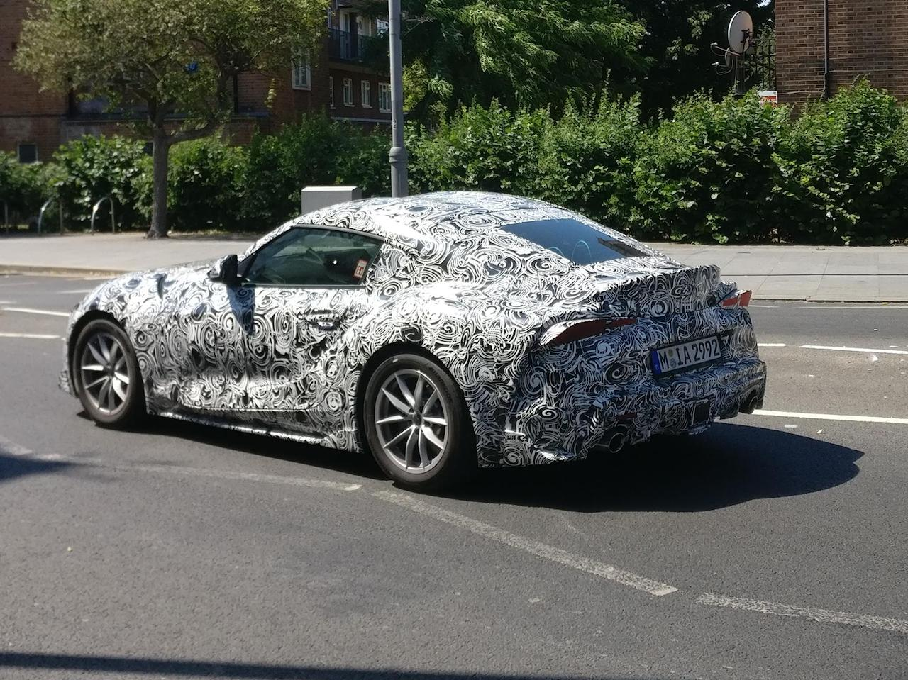 2019 Toyota Supra Spotted In The Uk Ahead Of Goodwood Debut