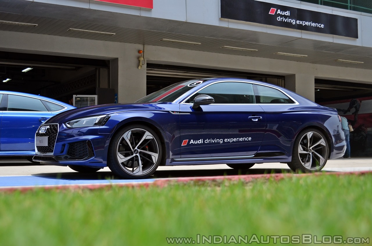 Audi RS5 review side angle