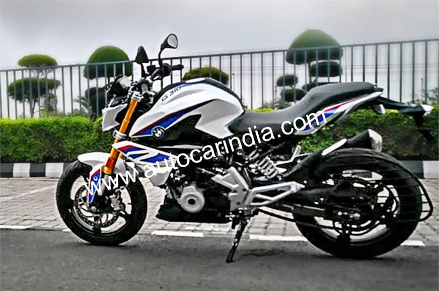 BMW G 310 R India-spec spied before lunch