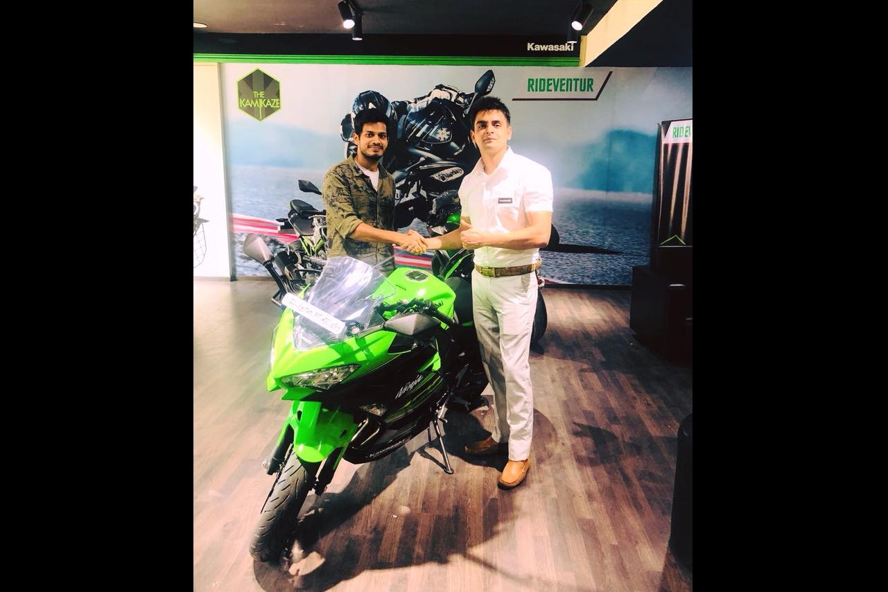 Kawasaki Ninja 400 delivered in South India