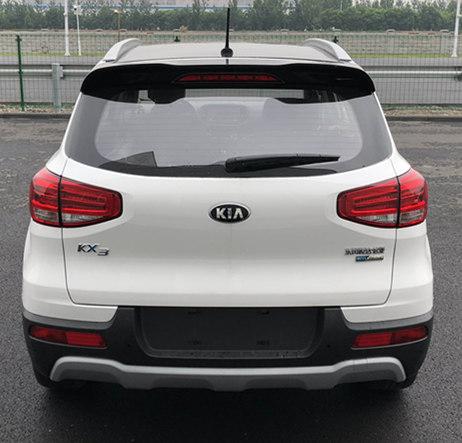 Kia KX3 EV rear