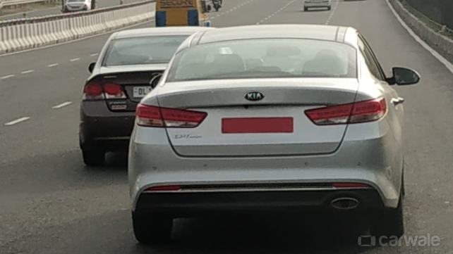 Kia Optima rear India unofficial image