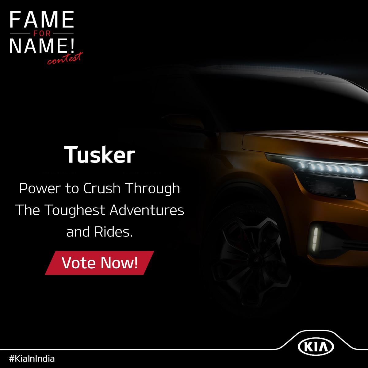 Kia SP Concept Kia Tusker name