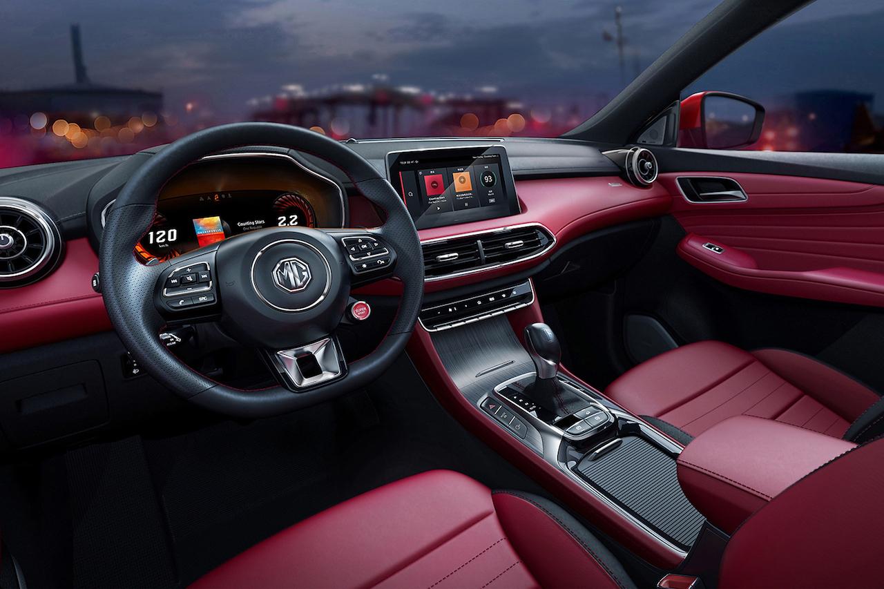 MG HS interior
