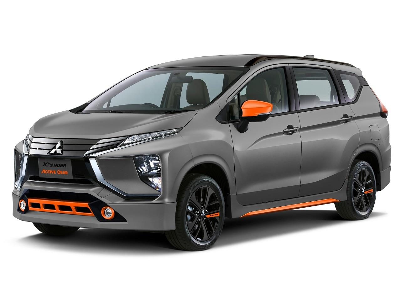 Mitsubishi Xpander Active Gear front three quarters rendering