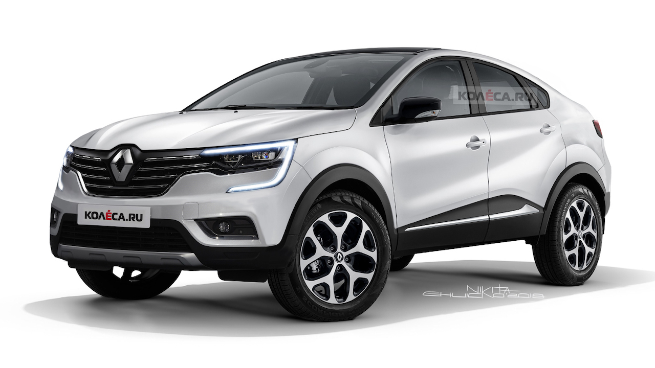 Renault Suv Coupe Renault Ljc Imagined Rendering