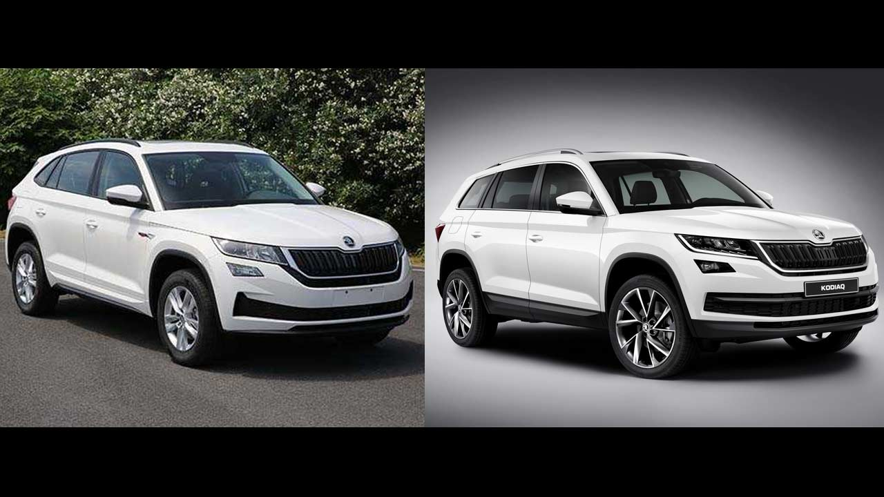 Skoda Kodiaq Gt Vs Skoda Kodiaq In Images