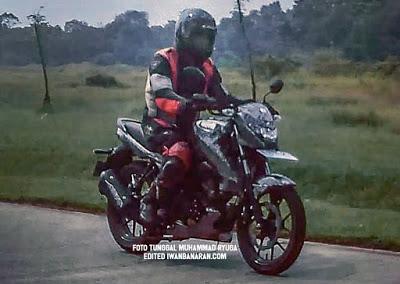 Suzuki Bandit 150 front