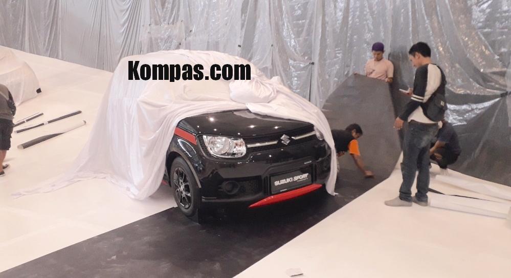 Suzuki Ignis Sport concept GIIAS 2018 leak