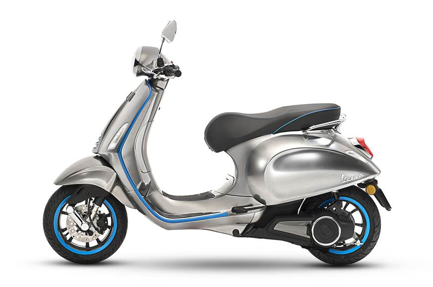 Vespa Elettrica e-scooter side profile