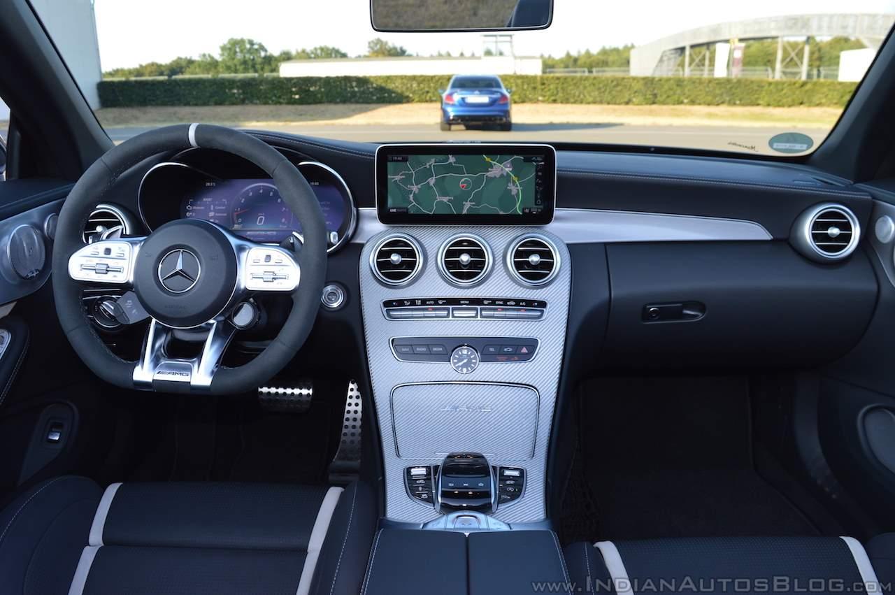 2018 Mercedes-AMG C 63 S Cabriolet (facelift) dashboard