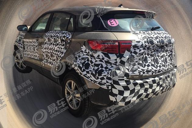 2018 - [Ford] Territory 2019-Ford-Territory-rear-three-quarters-spy-shot