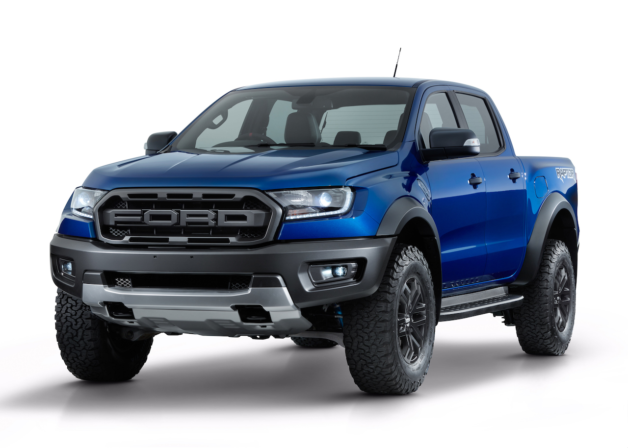 Ford Ranger Raptor front three quarters