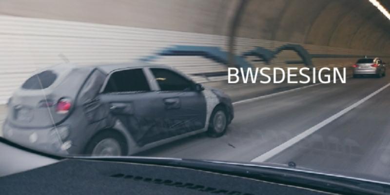 Hyundai i20 exterior spy shot South Korea