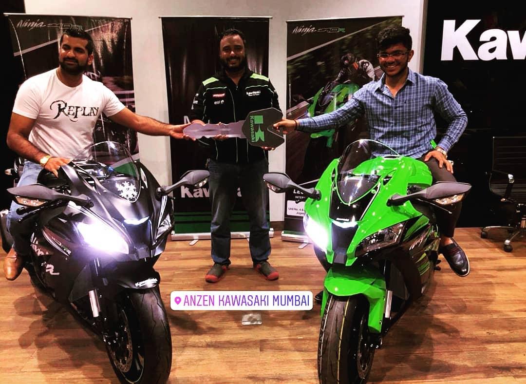 India Made Kawasaki Ninja Zx 10r Deliveries Commence