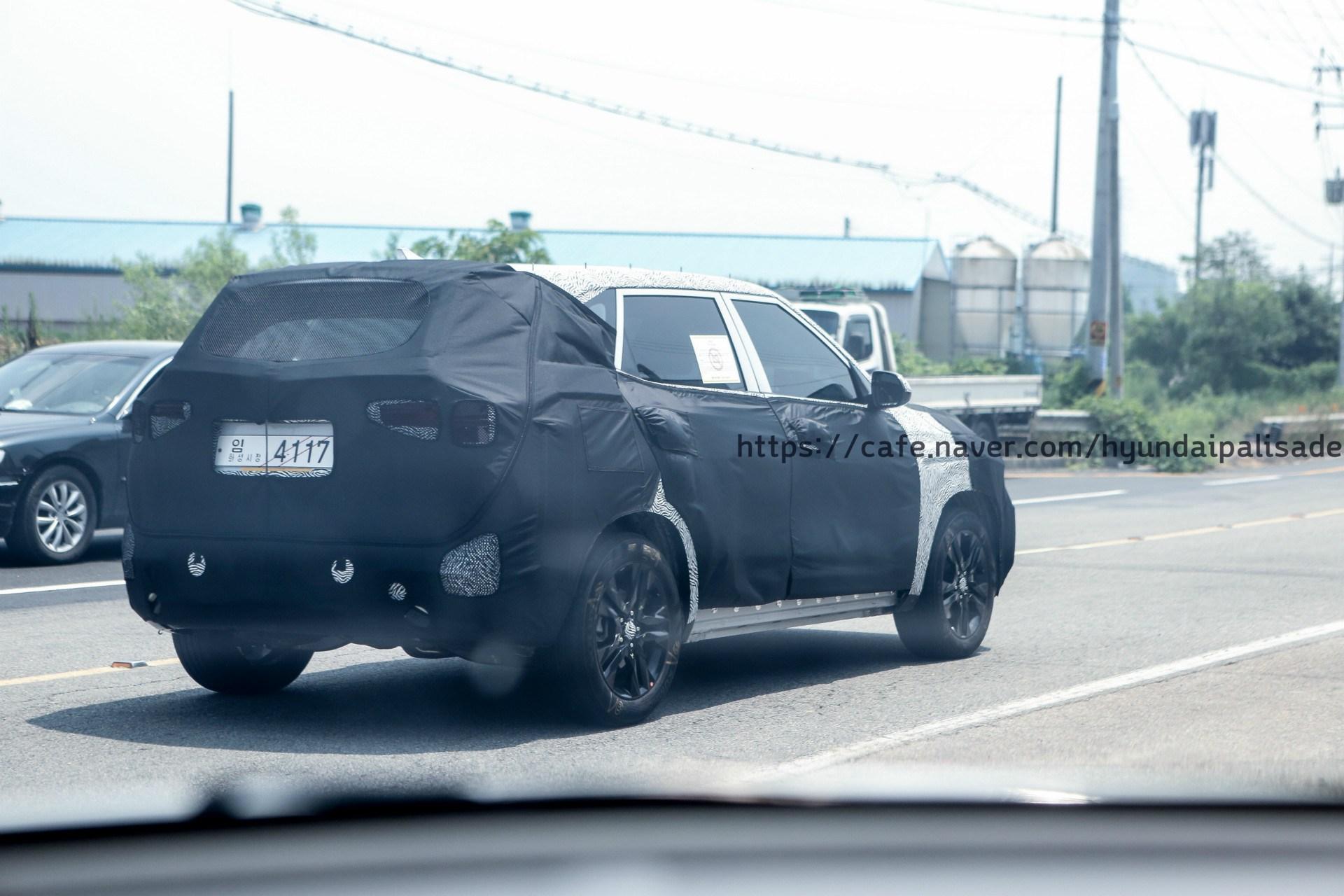 2019 - [Kia] Seltos Kia-SP-production-version-Kia-Tusker-rear-spied