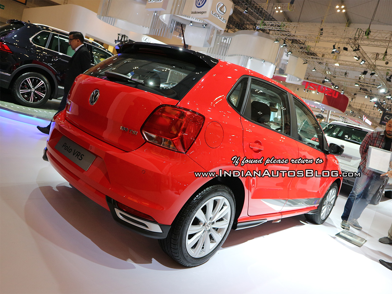 VW Polo VRS rear three quarters at GIIAS 2018