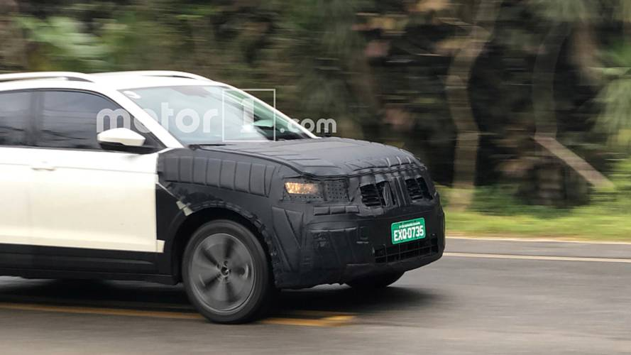 Larger restyled VW T-Cross (Hyundai Creta rival) spotted on test