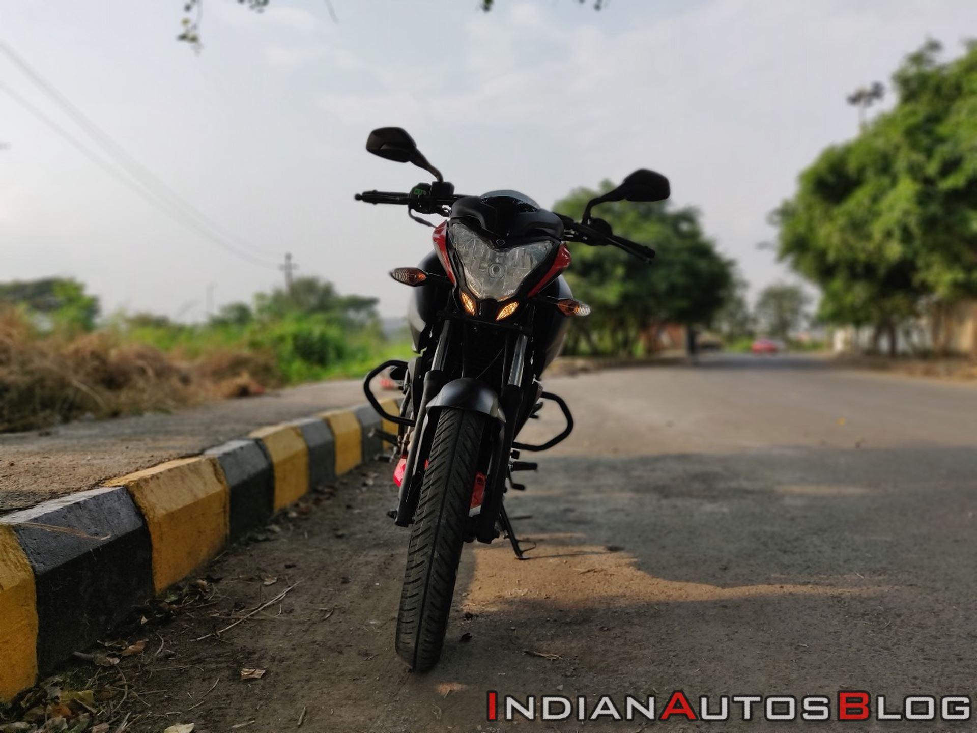 Bajaj Pulsar Ns160 Review Front Profile