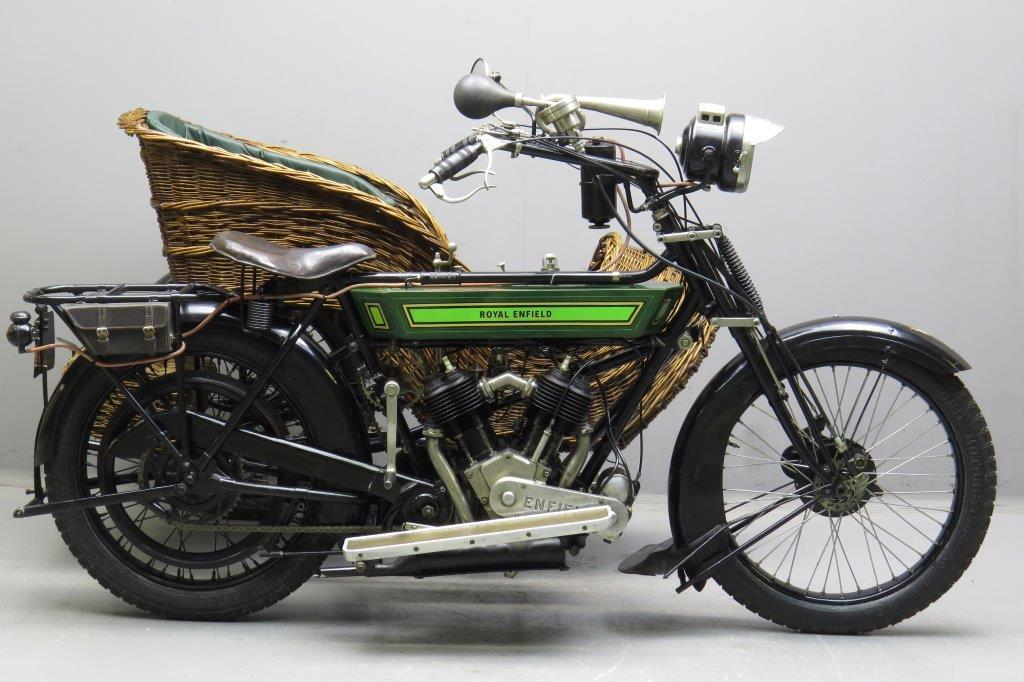 9 Vintage Royal Enfield Bikes Between 1910 1950 Flying Flea To 500