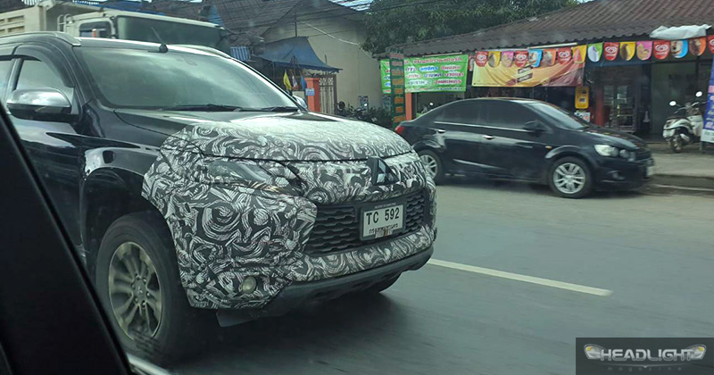 India Bound 2019 Mitsubishi Pajero Sport Facelift