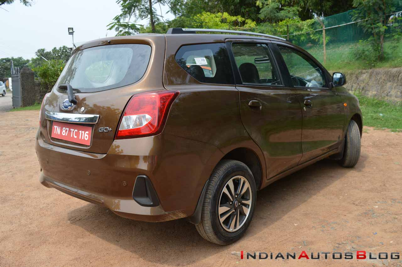 2018 Datsun Go+ (facelift) launched in India, Priced at ...