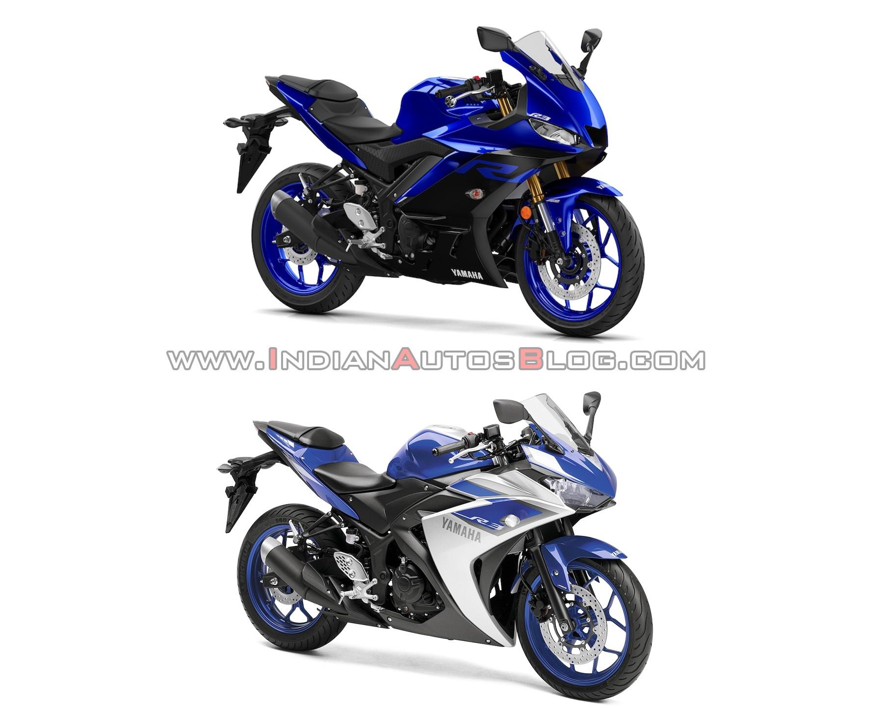 2019 yamaha r3 vs. 2015 yamaha r3 - old vs. new