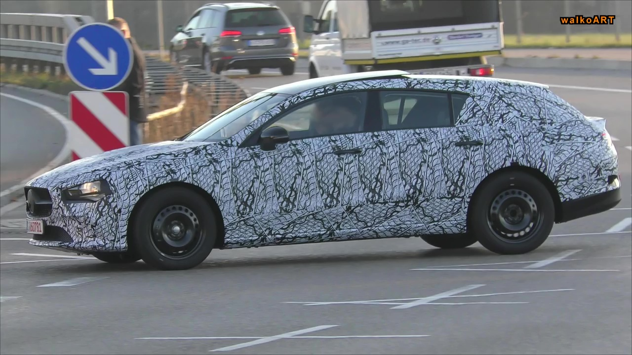 2020 Mercedes Cla Shooting Brake Spied For The First Time Video