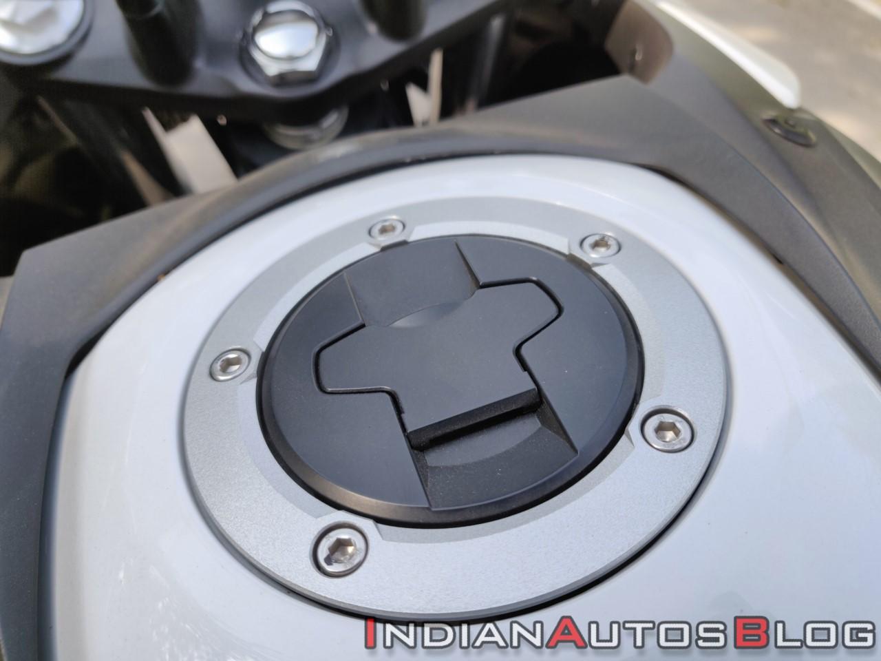Suzuki V Strom 650 Xt Details Fuel Cap