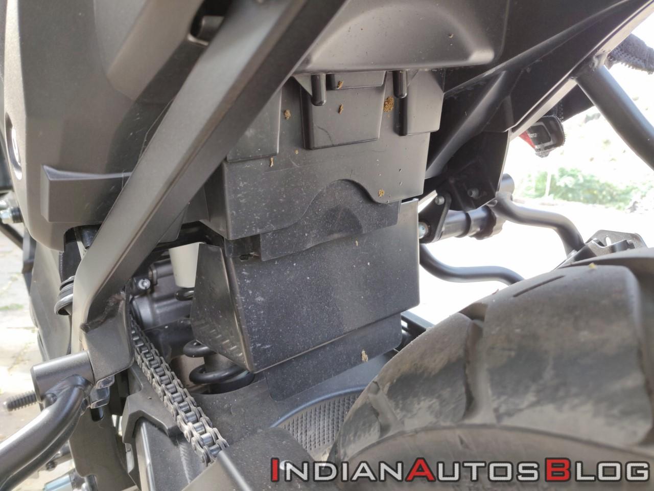 Suzuki V Strom 650 Xt Details Rear Suspension Cove