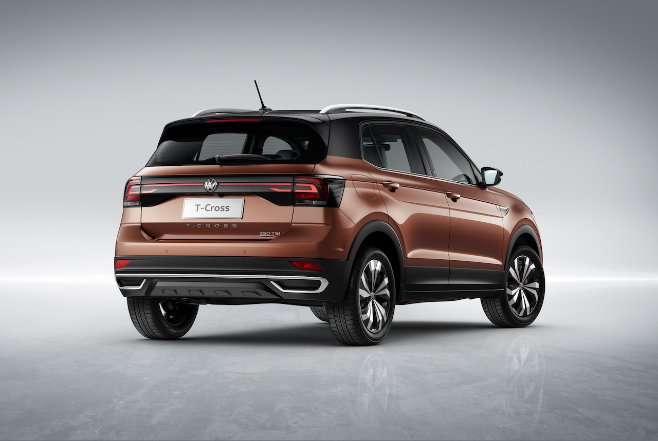 All-new Volkswagen T-Cross small SUV revealed