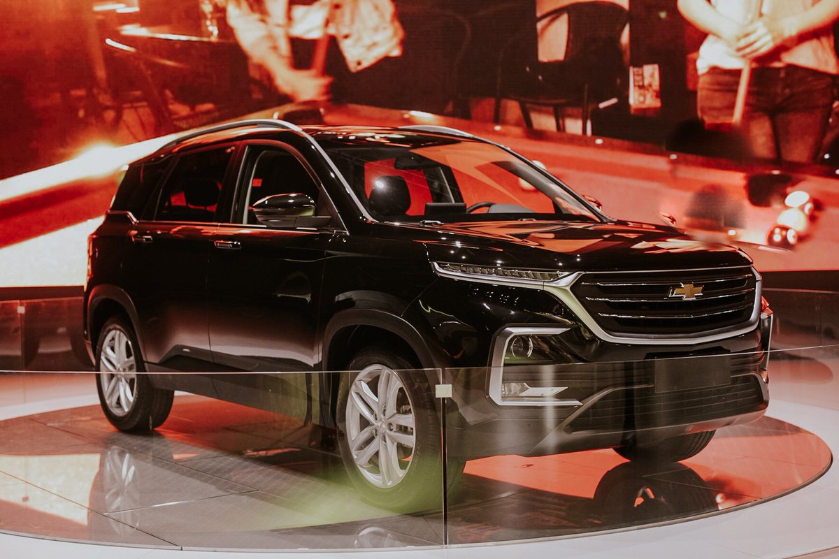 India Bound Mg Suv Becomes The All New Chevrolet Captiva For