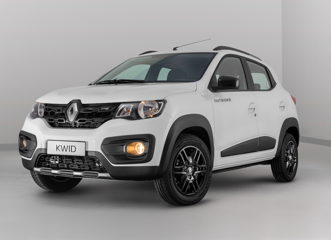 Production Renault Kwid Outsider Unveiled For Brazil Video