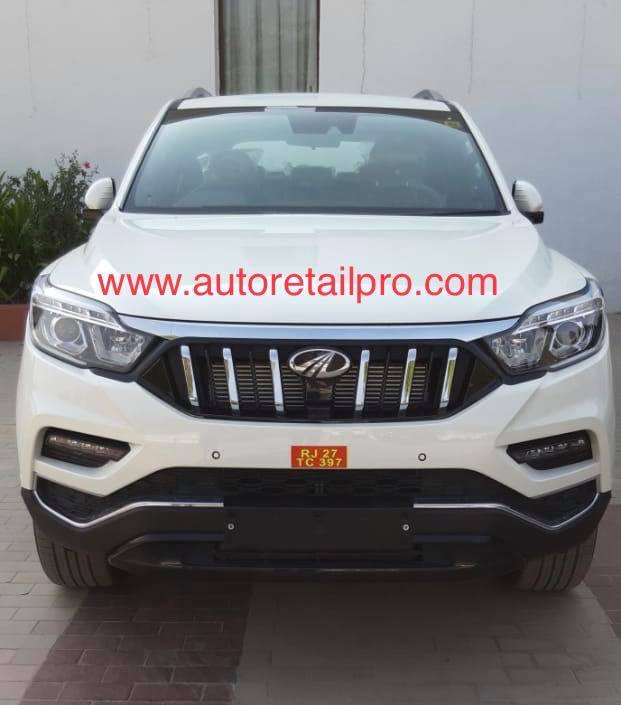 Mahindra Alturas White Colour Front 2