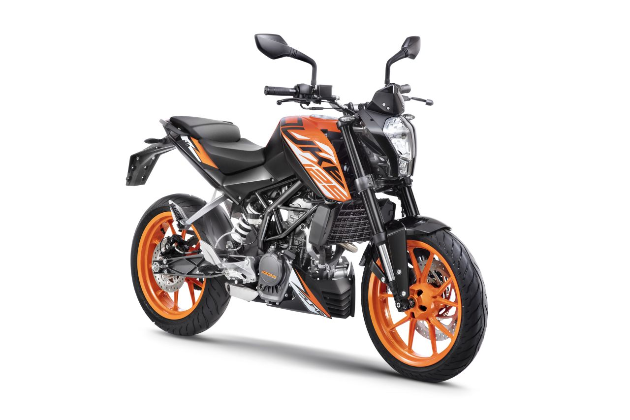 ktm 125 duke launched in india at inr 118 163. Black Bedroom Furniture Sets. Home Design Ideas
