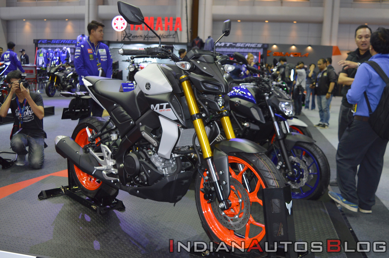 Yamaha MT-15 At The Thai Motor Expo 2018