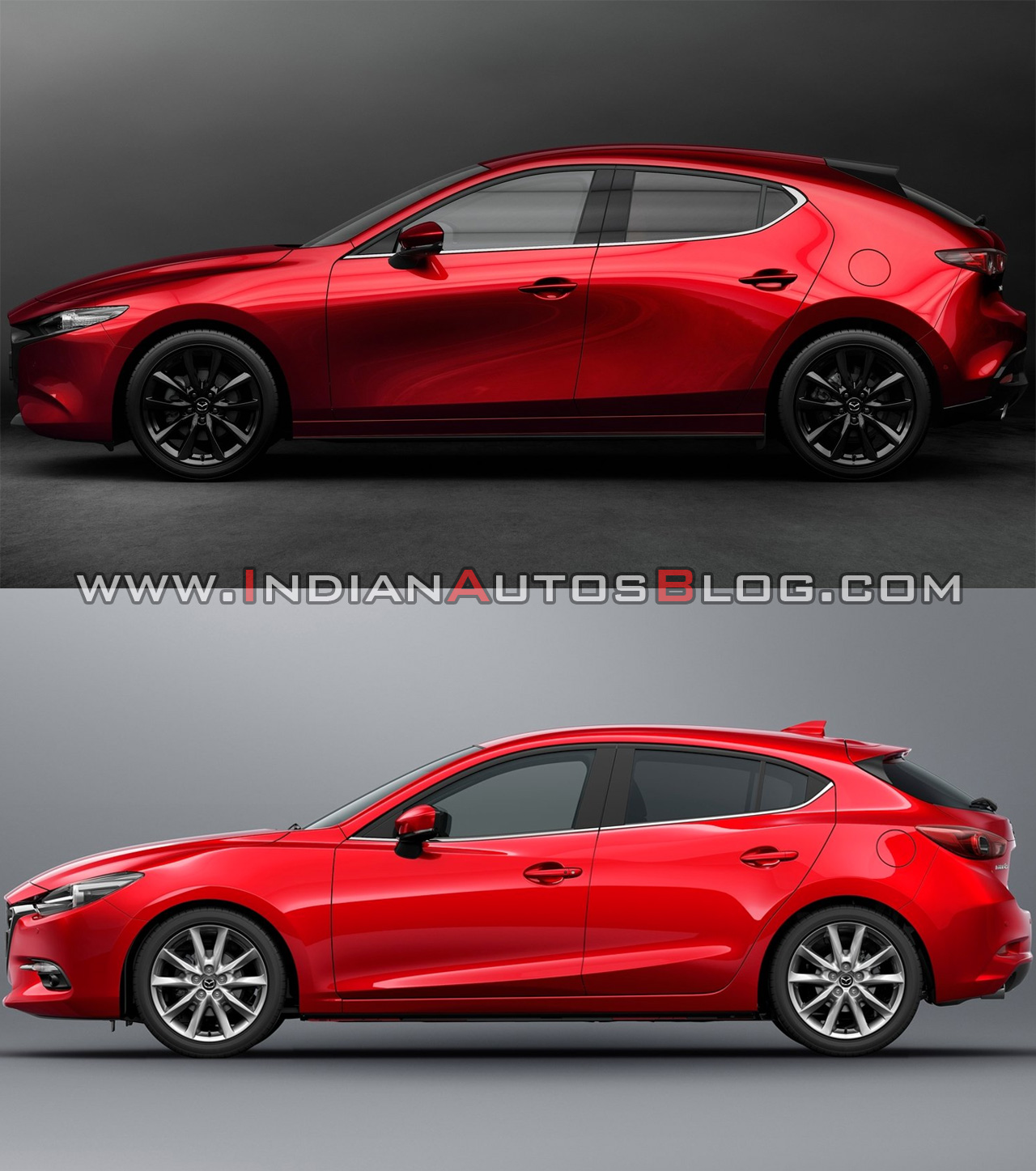 2019 Mazda3 Vs 2016 Mazda3 Profile
