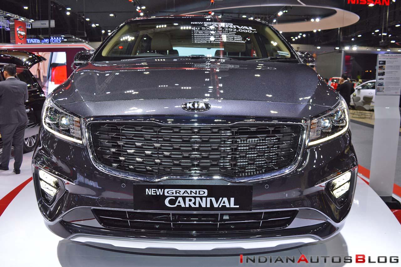 India Bound Kia Grand Carnival Motorshow Focus