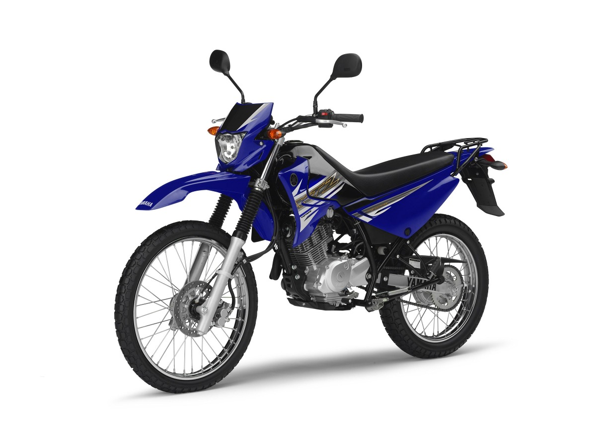 Yamaha xtz 125 front left quarter press image