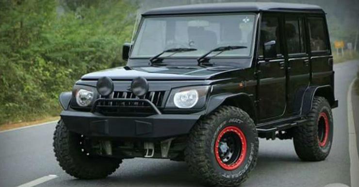 Automobile Trendz: Modified Mahindra Bolero |Mahindra Bolero Sportz Modified